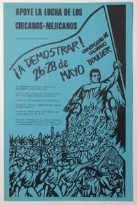 Apoye la lucha de los Chicanos-Mejicanos. Orador: Juan Antonio Corretjer. A demostrar! 26-28 de Mayo, Universidad de Colorado, Boulder [poster]