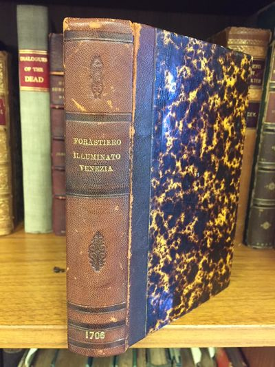 Venice: Francesco Toss, 1796. early edition. 12mo rebound in dark brown marble hardcovers with 4-ban...
