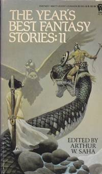 The Year's Best Fantasy Stories: II (eleven) - Golden Apples of the Sun, The Foxwife, Unmistakably the Finest, Draco Draco, The Harvest Child, A Cabin on the Coast, The Storm, Taking Heart, Strange Shadows, My Rose and My Glove, Stoneskin, ++