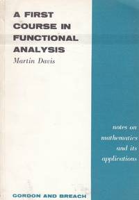 image of A First Course in Functional Analysis