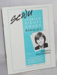 1992 Lesbian Rights Award Banquet honoring Roberta Achtenberg Los Angeles, March 14, 1992 [program]