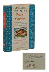 Mastering the Art of French Cooking by  Julia  Louisette; Child - Signed First Edition - 1961 - from Burnside Rare Books, ABAA (SKU: 140939606)