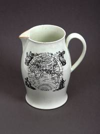 Wedgwood Creamware Jug bearing 'A Map of the World from the Latest Discoveries'