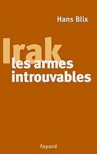Irak  les armes introuvables