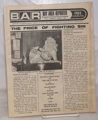 image of B.A.R. Bay Area Reporter: the catalyst for all factions of the gay community; vol. 3, #5, March 7, 1973: The Price of Fighting Sin