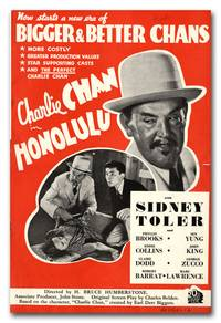 image of A Collection of Promotional Literature for 23 Charlie Chan Films