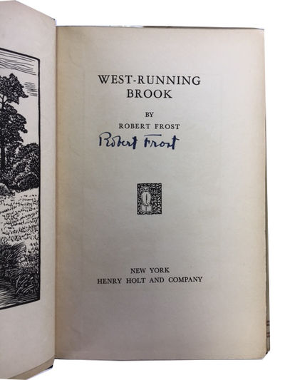 New York: Henry Holt and Company, 1928. 1st trade ed. Hardcover. Good/Fair. frontis and 3 other wood...