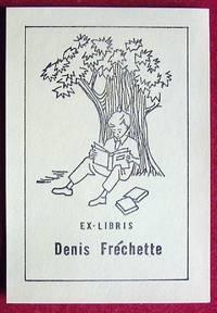 image of Ex-libris Québec. Denis Fréchette