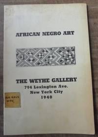 African Negro Art