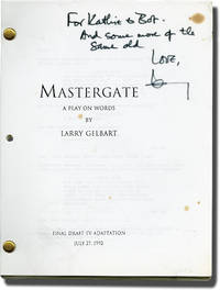 image of Archive of Scripts and Letters from Larry Gelbart to Robert Parrish (Nine original typescripts inscribed to Parrish from Gelbart)