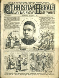 Rev. W. C. Burns, pioneer missionary to China, in Christian Herald and Signs of Our Times