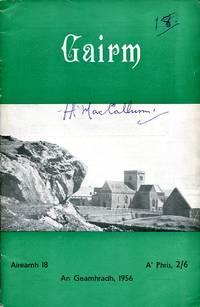 image of Gairm : Winter 1956 - No 18