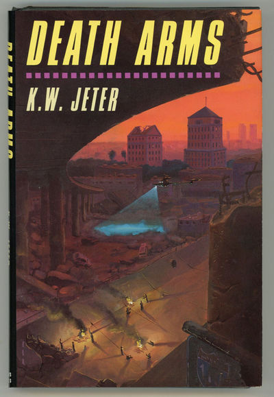 New York: St. Martin's Press, 1989. Octavo, boards. First U.S. edition. In a decayed, entropic Ameri...