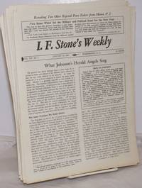 image of I.F. Stone's Weekly [41 issues]