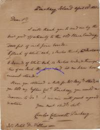 Charles Cotesworth Pinckney Places An Order For Lumber