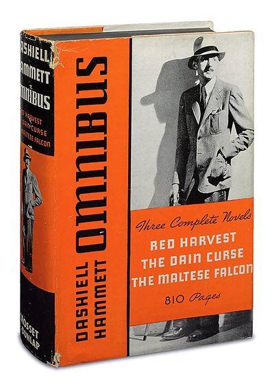 New York: Grosset & Dunlap, 1935. Hammett, Dashiell. OMNIBUS: Three Complete Novels: Red Harvest; Th...