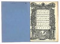 Ad Carolum .V. Caesarem augustissimum pro Francisco Sphortia Insubrum duce oratio