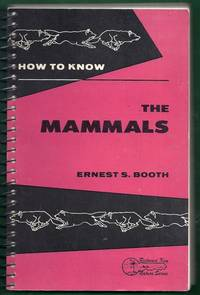 How to Know the Mammals. Second Edition.   Pictured Key Nature Series