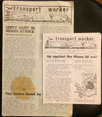 image of The Transport Worker: issued by and for rank_file seamen, teamsters, longshoremen, railroad, airline, warehouse and allied workers [two issues: No. 3 and 6]