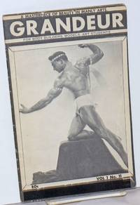 image of Grandeur: a masterpiece of beauty in manly arts; vol. 1, #11; for body builders, models, art students