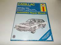 Cadillac Rear-wheel Drive Models, 1970 thru 1993, Sedan deVille, Coupe deVille, Brougham, Seville...