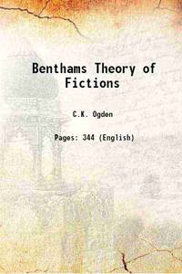 Benthams Theory of Fictions 1932