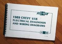 CHEVY TRUCKS : 1989 CHEVY VAN ELECTRICAL DIAGNOSIS AND WIRING DIAGRAMS : ST-331-89-EDD