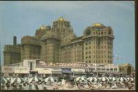 image of HOTEL TRAYMORE ATLANTIC CITY NEW JERSEY POSTCARD 1957
