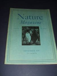 image of Vintage Issue of Nature Magazine for November 1939