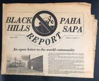 Black Hills / Paha Sapa Report. Vol. 1, no. 1 (july 1979)