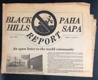 image of Black Hills / Paha Sapa Report. Vol. 1, no. 1 (july 1979)