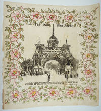 """image of """"The Canadian Arch.  Canada, Britain's Granary.  God Save Our King and Queen"""".   Commemorative tissue souvenir"""