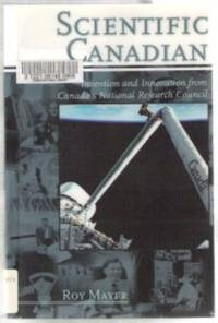 SCIENTIFIC CANADIAN  Invention and Innovation from Canada's National  Research Council