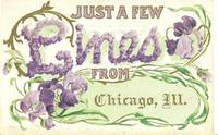 Just A Few Lines From Chicago Illinois 1912 used Postcard