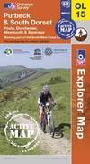 image of Purbeck and South Dorset, Poole, Dorchester, Weymouth & Swanage (OS Explorer Map Active)