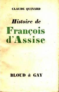 Histoire de saint françois d'assise