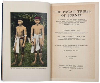 The Pagan Tribes of Borneo. A...