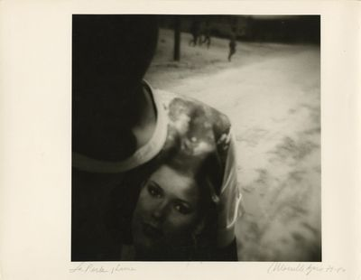 1980. Original silver gelatin photograph 9 11/16 x 9 9/16 in. printed on photographic paper, 11 x 14...