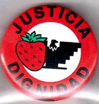 image of Justicia / dignidad [pinback button]