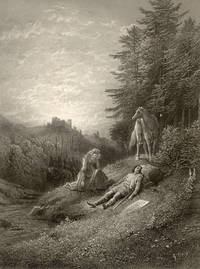image of Enid. Illustrated by Gustave Dorè