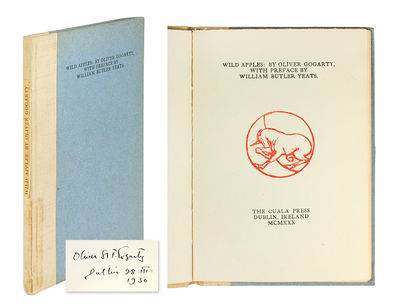 Wild Apples: By Oliver Gogarty, With...