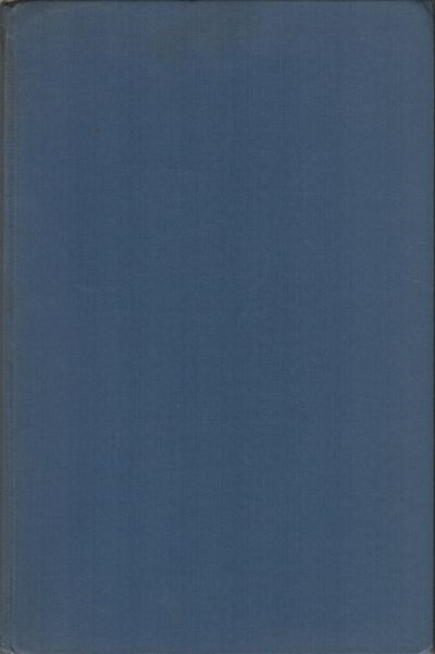 Chicago: University of Chicago Press, (1951). First edition. Hardcover. Very Good. 8vo. Blue cloth. ...