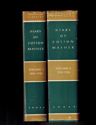 New York: Frederick Ungar Publishing Co. No dates, circa 1957. Both volumes Near Fine, corners bumpe...