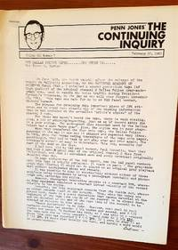 The Continuing Inquiry (newsletter re: JFK assassination)