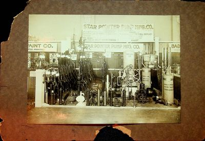 Menasha, Wisconsin: Star Pointer Pump Mfg. Co, 1900. First Edition. Photograph. Good. First Edition....