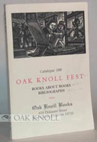 OAK KNOLL BOOKS
