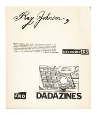 [From the upper cover of the portfolio]: Ray Johnson, North American, Networkers, and Dadazines