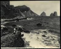 Capri. Punta del Tragara con i Faraglioni.