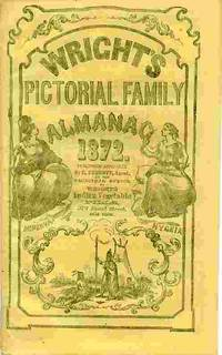 image of Wright's Pictorial Family Almanac, 1872.