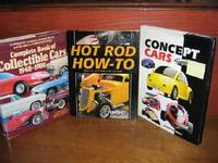 Concept Cars and Two Other Automotive Hardcovers
